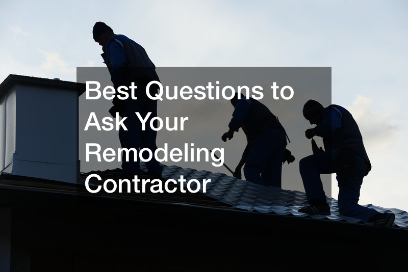 questions to ask remodeling contractor